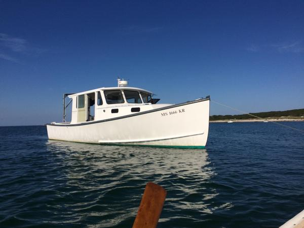Used South Shore Cruiser/fisherman Downeast Fishing Boat For Sale