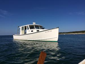 Used Calvin Beal Cruiser/fisherman Downeast Fishing Boat For Sale