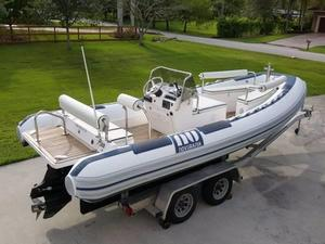 Used Novurania Launch 600 Rigid Sports Inflatable Boat For Sale