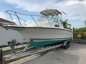 Used Stamas 270 Express Walk Around Walkaround Fishing Boat For Sale