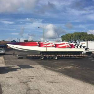 Used Skater High Performance Boat For Sale