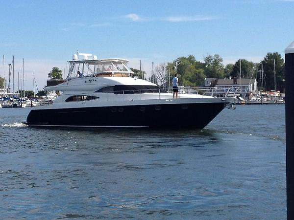 1999 Used Viking Princess 65 Motor Yacht Motor Yacht For