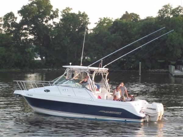 Used Aquasport 275 Explorer River Cruiser Boat For Sale