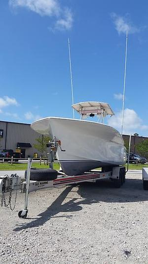 Used Sunny Briggs Center Console Fishing Boat For Sale