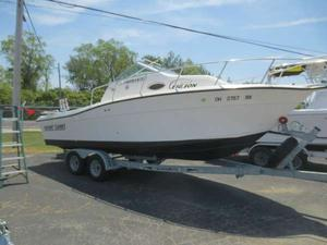 Used Sportcraft 23 Freshwater Fishing Boat For Sale