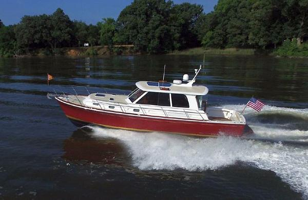 Used Grand Banks 45 Eastbay SX Downeast Fishing Boat For Sale