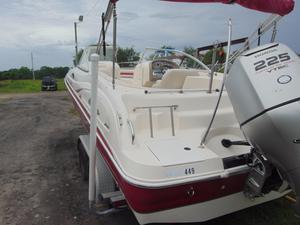 Used Hurricane SunDeck 237 OB Deck Boat For Sale