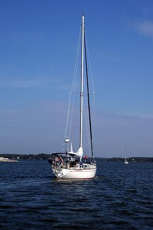Used Cal 39 Sloop Sailboat For Sale