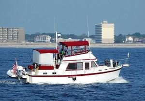 Used Prairie Boat Works Coastal Cruiser Motor Yacht For Sale