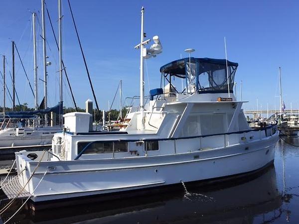 Used Monk Semi-custom Trawler Boat For Sale