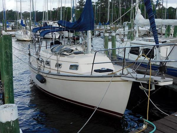 Used Island Packet 27 Cutter Sailboat For Sale