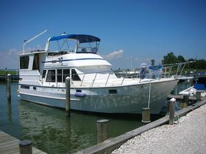 Used Heritage East 42 Sundeck Trawler Boat For Sale