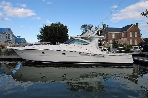 Used Tiara 50 Open Express Cruiser Boat For Sale