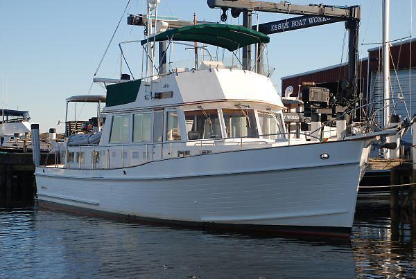 Used Grand Banks 46' Classic Trawler Boat For Sale