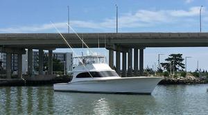 Used Custom Carolina Bobby Sullivan Sportfish Sports Fishing Boat For Sale