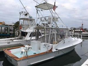 Used Blue Fin Custom 36' Express Sports Fishing Boat For Sale