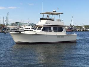 Used Sabre Yachts flybridge sedan Downeast Fishing Boat For Sale
