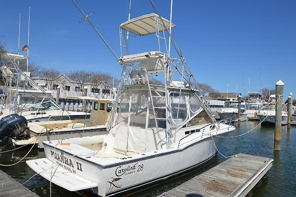 Used Carolina Classic Express Fisherman Saltwater Fishing Boat For Sale