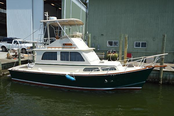 Used Brownell Downeast Trawler Boat For Sale