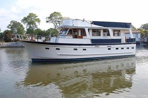 Used Marine Trader 50' Trawler Boat For Sale
