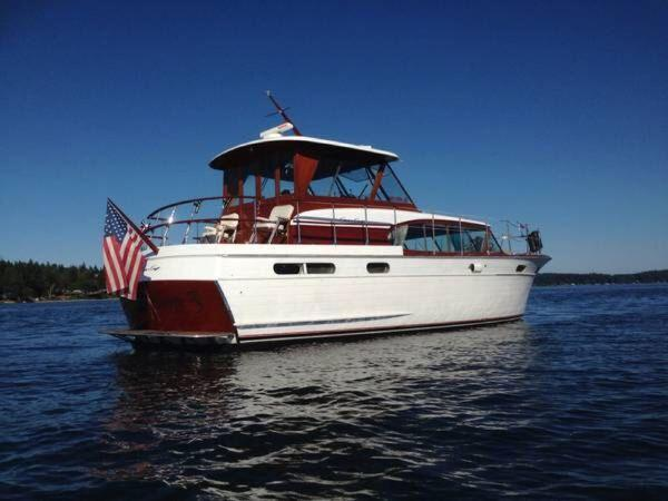 Used Chris Craft Constellation Aft Cabin Boat For Sale