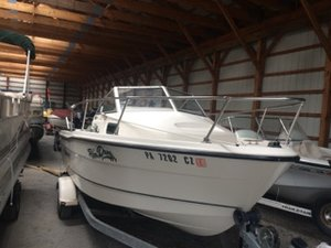 Used Trophy Marine 1802 FJ Bay Boat For Sale