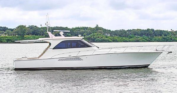Used Viking Sport Yacht Express Cruiser Boat For Sale
