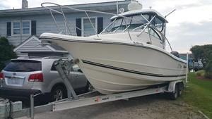 Used Triton 2690 Cuddy Cabin Boat For Sale