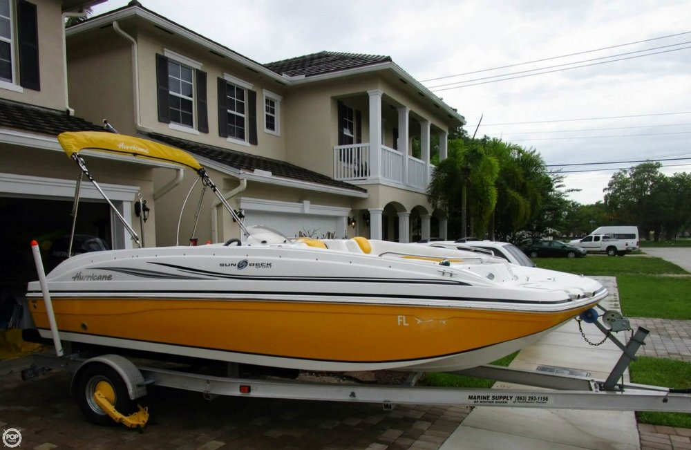 2015 used hurricane sundeck sport 188 ob deck boat for for Hurricane sundeck for sale