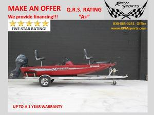 Used Aluma-Weld/xpress H51 Freshwater Fishing Boat For Sale