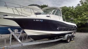 Used Seaswirl Striper 2601 Walkaround I/O Sports Fishing Boat For Sale