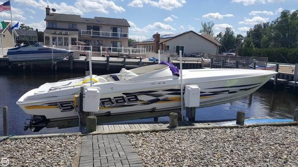 Used Scarab 33 AVS High Performance Boat For Sale