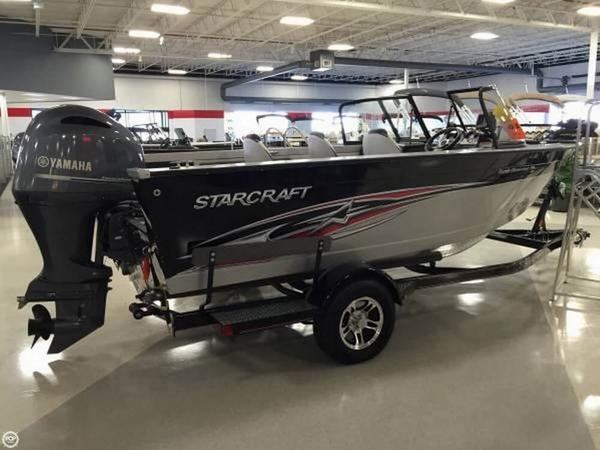 Used Starcraft Superfisherman 186 Aluminum Fishing Boat For Sale