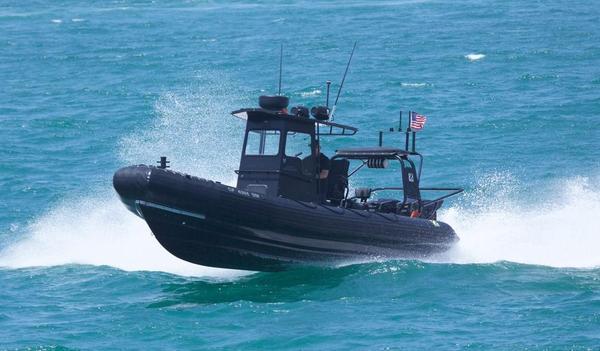 Used Zodiac Rib Hurricane 753 Tender Boat For Sale