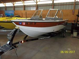 Used Crestliner Sport Angler Series 1650 Freshwater Fishing Boat For Sale