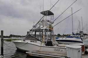 Used Carolina Classic 28 Express Fisherman Sports Fishing Boat For Sale