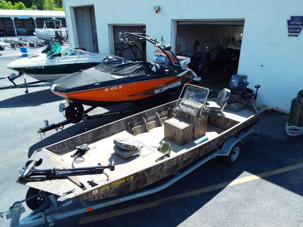 Used Seaark 1872MVJT Bass Boat For Sale