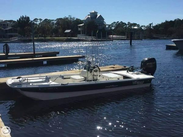 Used Mako Pro Skiff 17 CC Skiff Fishing Boat For Sale