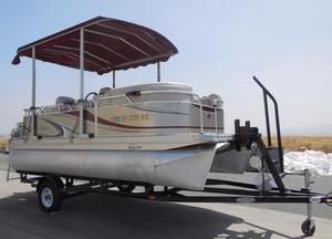 Used Qwest Pontoon Boat For Sale
