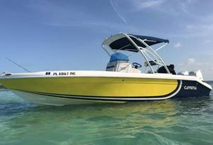 Used Carrera Center Console Fishing Boat For Sale