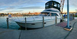 Used Trojan 10 Meter Sedan Bridge Cruiser Boat For Sale