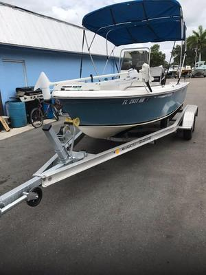 Used Seafox 172 CC Saltwater Fishing Boat For Sale