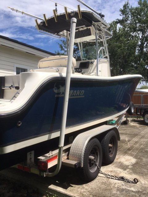 Used Mako 264 Cc Center Console Fishing Boat For Sale