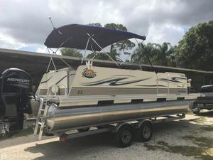 Used Fiesta Family Fisher 22 Pontoon Boat For Sale