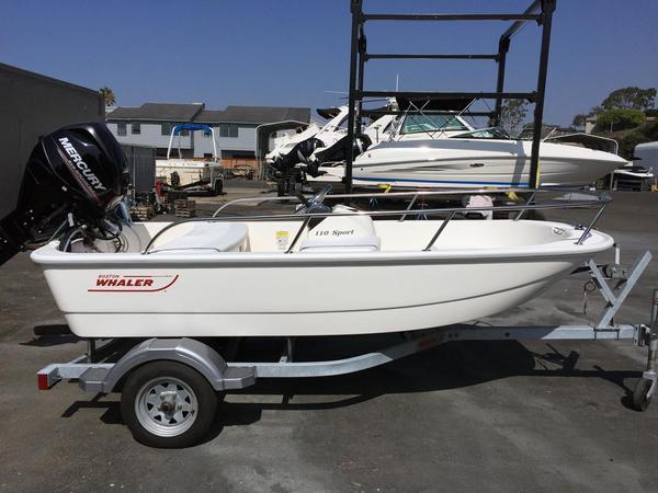 New Boston Whaler 110 Sport Tender Boat For Sale