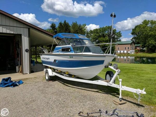Used Starcraft Islander 191V Aluminum Fishing Boat For Sale