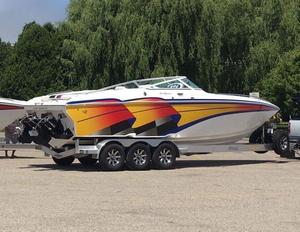 Used Powerquest 300 Revenge Cruiser Boat For Sale