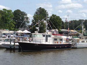 Used Bruce Roberts Waverunner Trawler Boat For Sale