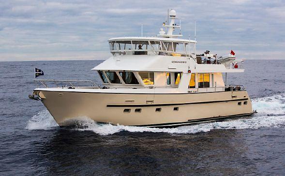 Used Custom Park Isle Marine Trawler Motor Yacht For Sale