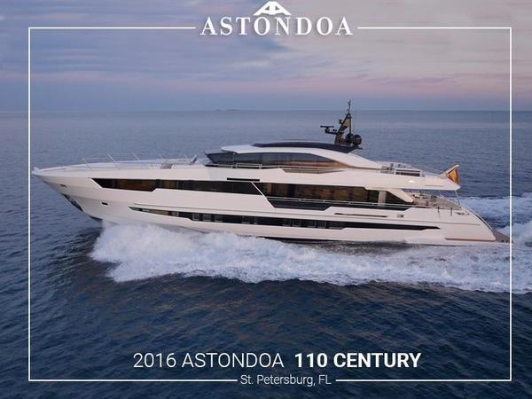 Used Astondoa 110 Century Motor Yacht For Sale
